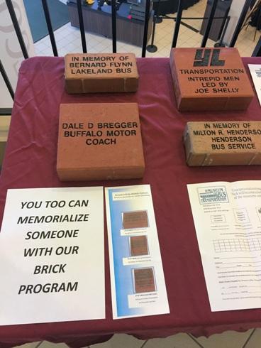 Brick Program was on display