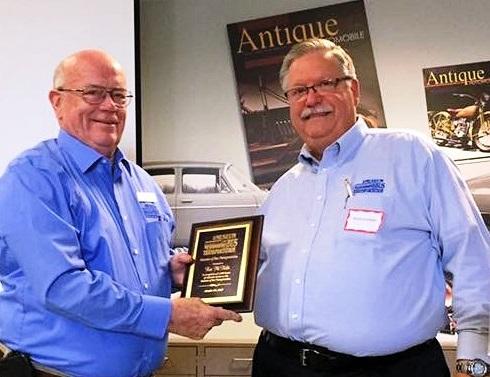 Ken McNelis recognized for 1000 hours of Volunteer Service